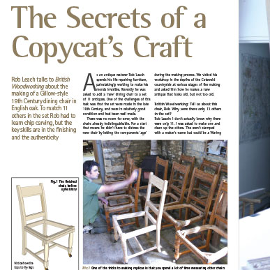 article Copycat Craft